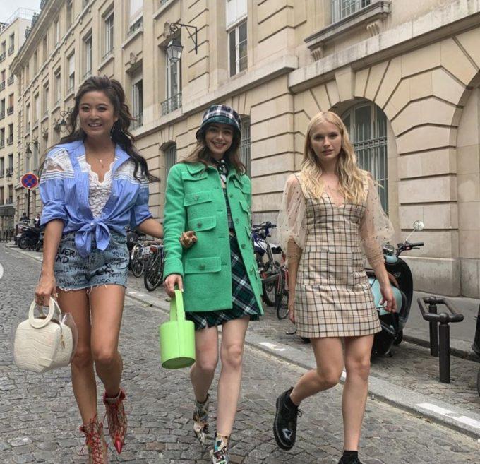 エミリー、パリへ行くのイケてる3人