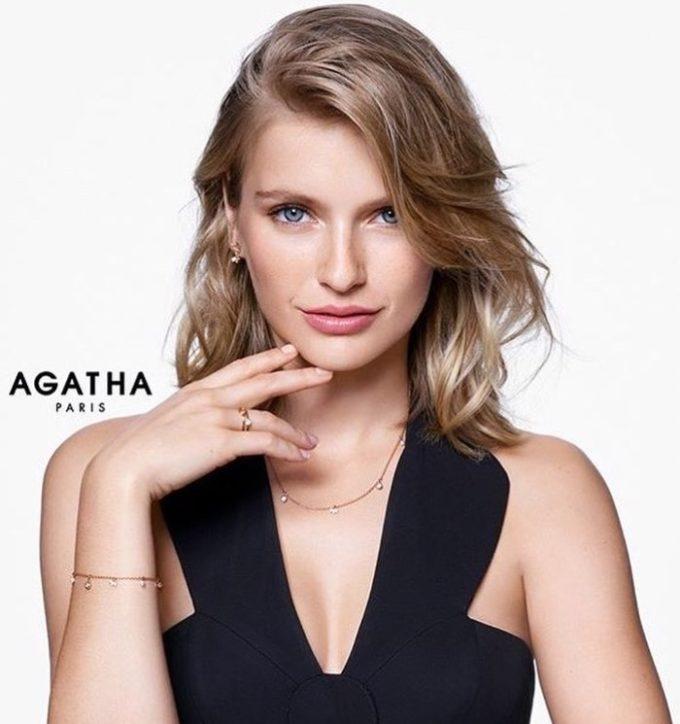 カミーユ、アガタの広告モデル