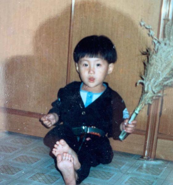 キム・ソンホの幼少期